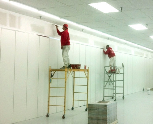 commercial interior work